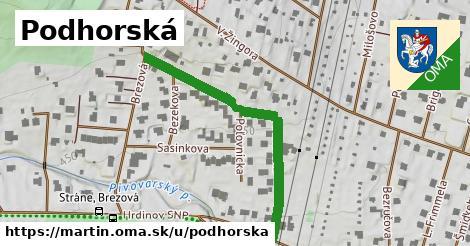 ilustrácia k Podhorska, Martin - 427m