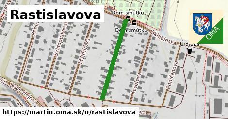 ilustrácia k Rastislavova, Martin - 280m