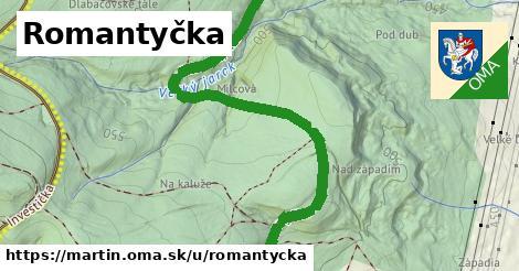 ilustrácia k Romantyčka, Martin - 3,6km