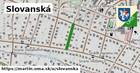 ilustrácia k Slovanská, Martin - 141m