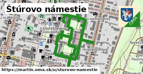 ilustrácia k Štúrovo námestie, Martin - 1,31km