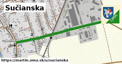 ilustrácia k Sučianska, Martin - 1,11km