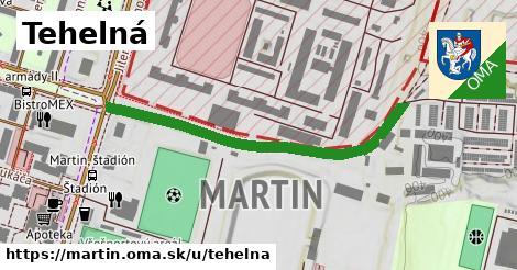 ilustrácia k Tehelná, Martin - 467m