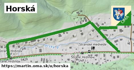 ilustrácia k Horská, Martin - 0,87km