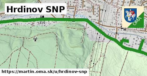 ilustrácia k Hrdinov SNP, Martin - 3,9km