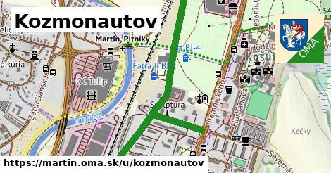 ilustrácia k Kozmonautov, Martin - 1,20km