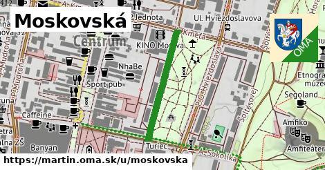 ilustrácia k Moskovská, Martin - 262m