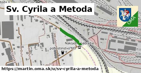 Sv. Cyrila a Metoda, Martin
