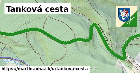 ilustrácia k Tanková cesta, Martin - 2,9km