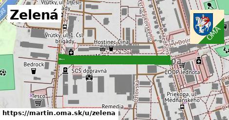 ilustrácia k Zelená, Martin - 0,73km