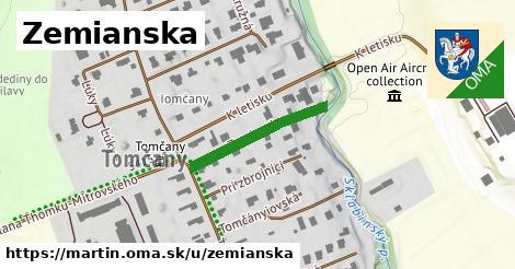 ilustrácia k Zemianska, Martin - 219m