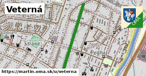 ilustrácia k Veterná, Martin - 0,74km