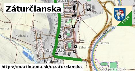 ilustrácia k Záturčianska, Martin - 1,58km