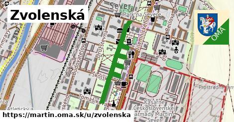 ilustrácia k Zvolenská, Martin - 657m