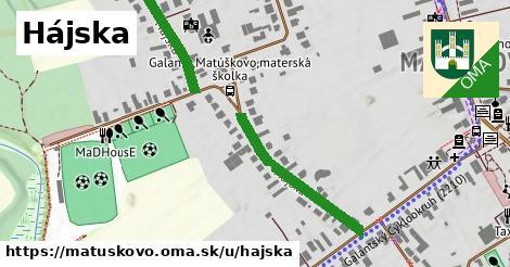 ilustrácia k Hájska, Matúškovo - 408m