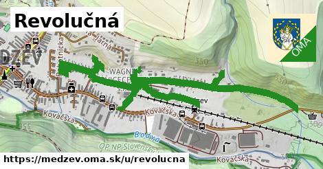 ilustrácia k Revolučná, Medzev - 1,55km