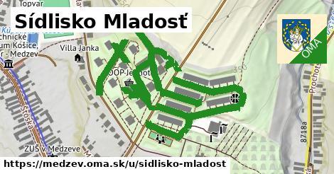 ilustrácia k Sídlisko Mladosť, Medzev - 1,24km