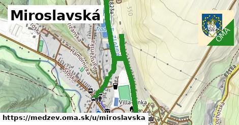 ilustrácia k Miroslavská, Medzev - 1,59km