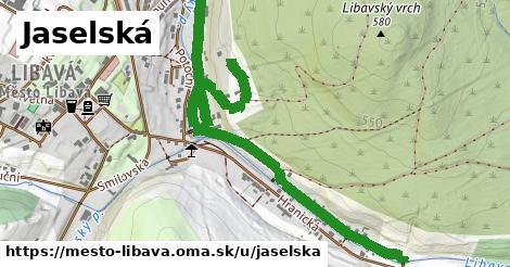 ilustrácia k Jaselská, Město Libavá - 1,64km
