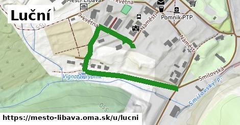 ilustrácia k Luční, Město Libavá - 566m
