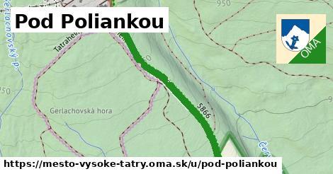 ilustrácia k Pod poliankou, mesto Vysoké Tatry - 0,82km