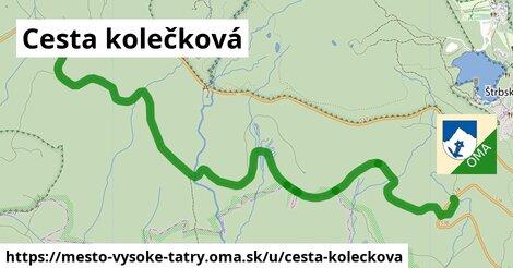 ilustrácia k Cesta kolečková, mesto Vysoké Tatry - 5,0km