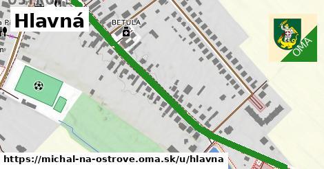 ilustrácia k Hlavná, Michal na Ostrove - 0,74km