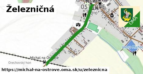 ilustrácia k Železničná, Michal na Ostrove - 0,82km