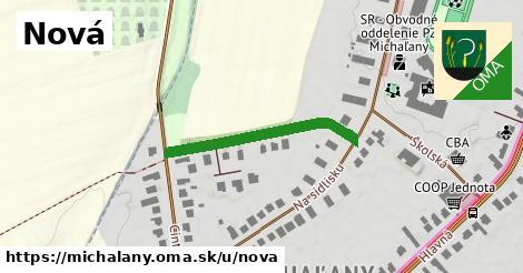 ilustračný obrázok k Nová, Michaľany