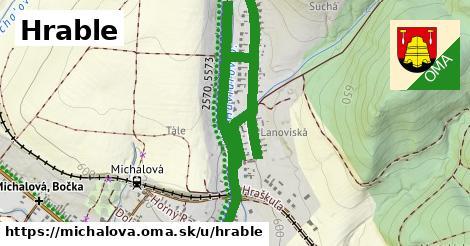 ilustrácia k Hrable, Michalová - 1,80km