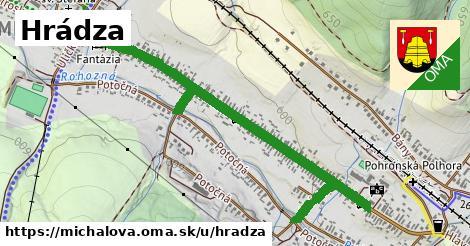 ilustrácia k Hrádza, Michalová - 1,35km