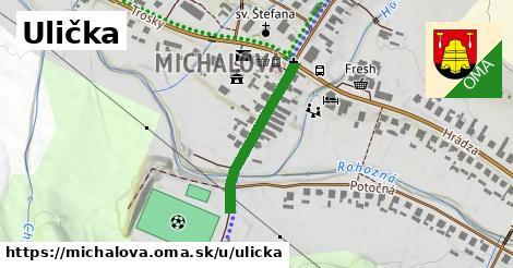 ilustrácia k Ulička, Michalová - 239m