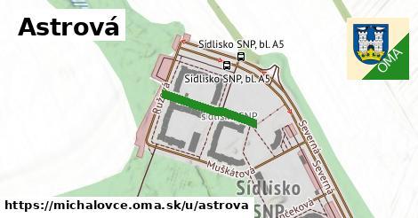 ilustrácia k Astrová, Michalovce - 166m