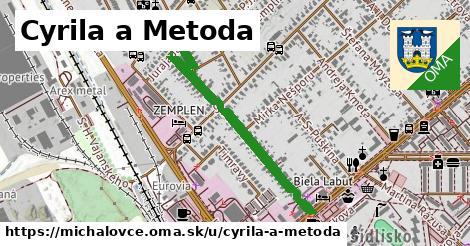 ilustračný obrázok k Cyrila a Metoda, Michalovce