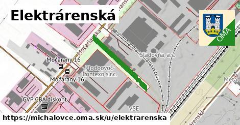 ilustrácia k Elektrárenská, Michalovce - 231m