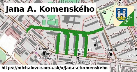 ilustračný obrázok k Jana A. Komenského, Michalovce