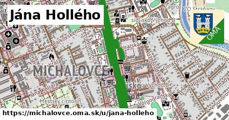 ilustrácia k Jána Hollého, Michalovce - 3,4km