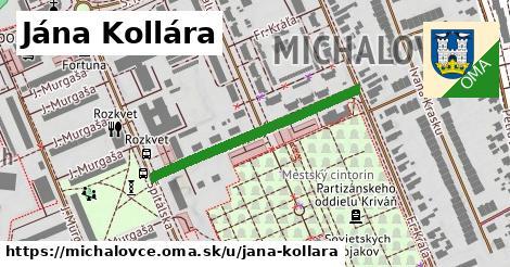 ilustrácia k Jána Kollára, Michalovce - 326m