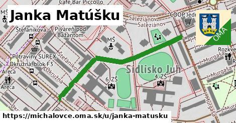 ilustrácia k Janka Matúšku, Michalovce - 462m