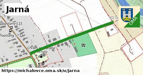 ilustrácia k Jarná, Michalovce - 462m