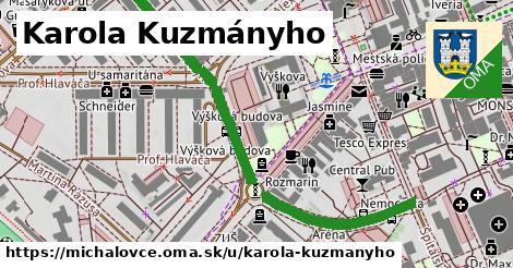 ilustrácia k Karola Kuzmányho, Michalovce - 595m