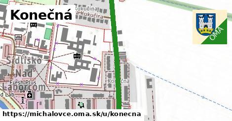 ilustrácia k Konečná, Michalovce - 420m