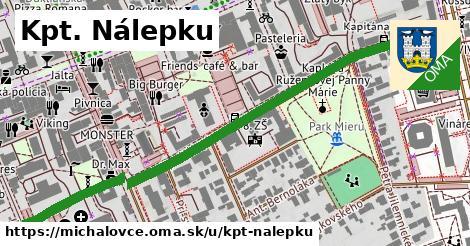 ilustrácia k Kpt. Nálepku, Michalovce - 567m