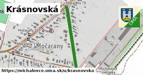 ilustrácia k Krásnovská, Michalovce - 327m