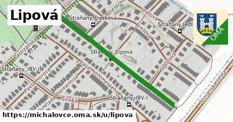 ilustrácia k Lipová, Michalovce - 464m
