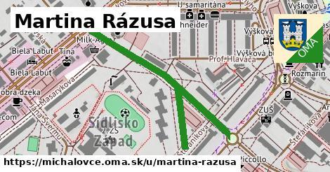ilustrácia k Martina Rázusa, Michalovce - 533m