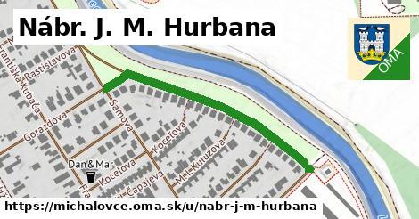 ilustračný obrázok k Nábr. J. M. Hurbana, Michalovce