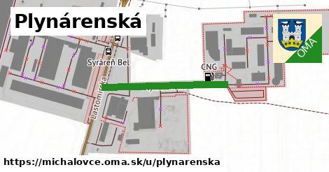 ilustrácia k Plynárenská, Michalovce - 286m