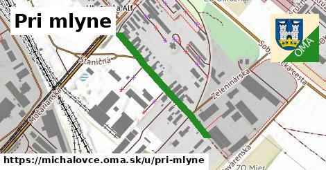 ilustrácia k Pri mlyne, Michalovce - 311m