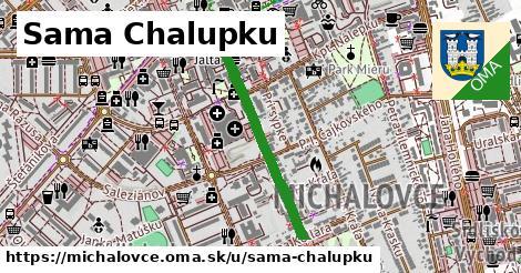 ilustrácia k Sama Chalupku, Michalovce - 626m
